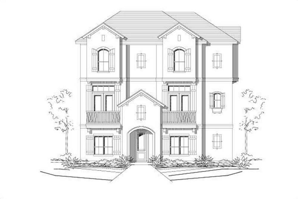 Main image for house plan # 16444
