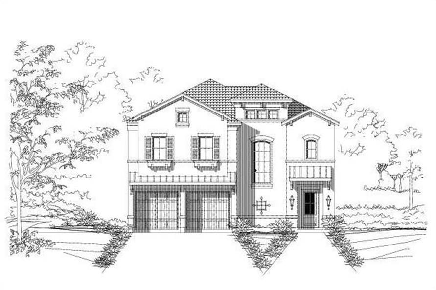 Main image for house plan # 16441