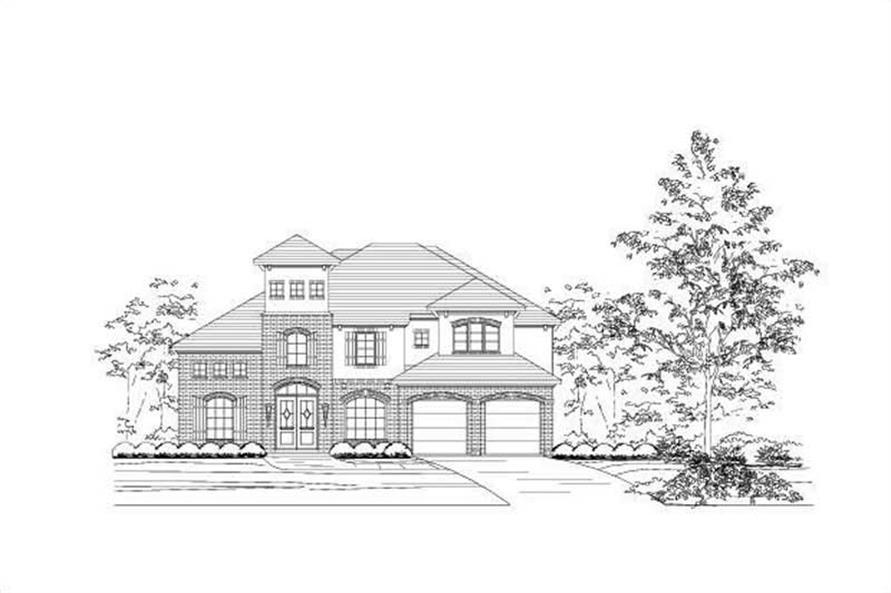 Main image for house plan # 16437
