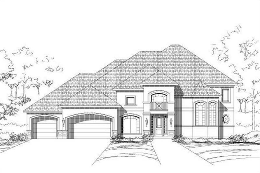 Main image for house plan # 16478
