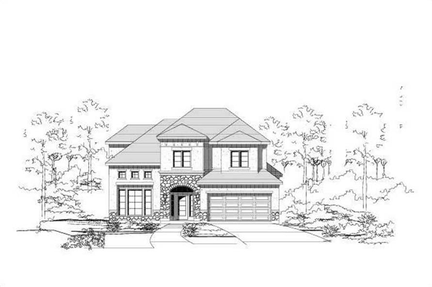 Main image for house plan # 16465