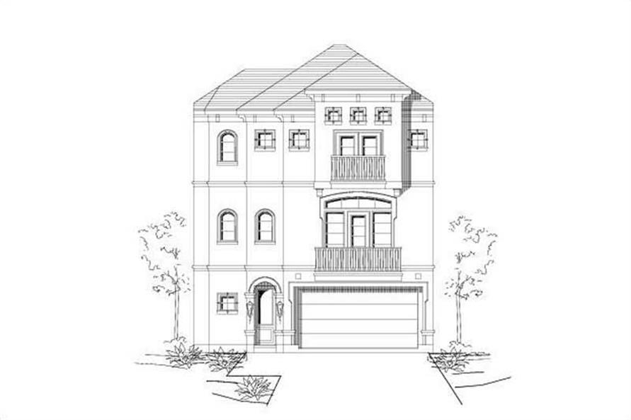 Main image for house plan # 16445