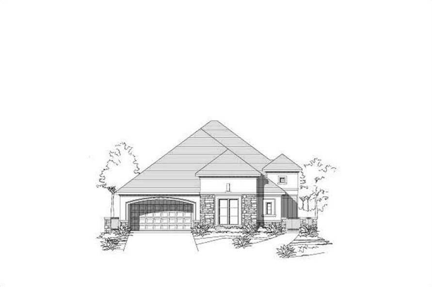 Main image for house plan # 16462