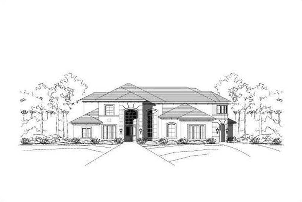 Main image for house plan # 16570