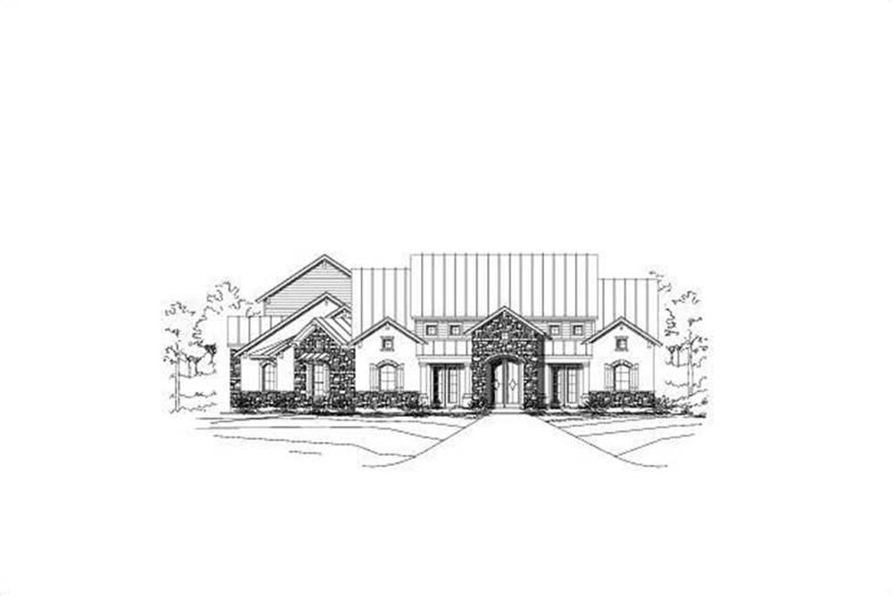 Main image for house plan # 16440