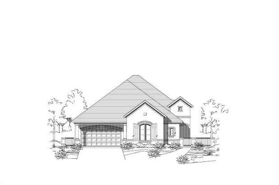 Main image for house plan # 16463