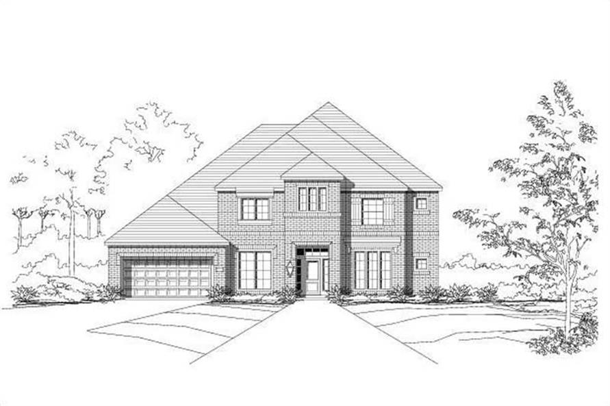 Main image for house plan # 16565