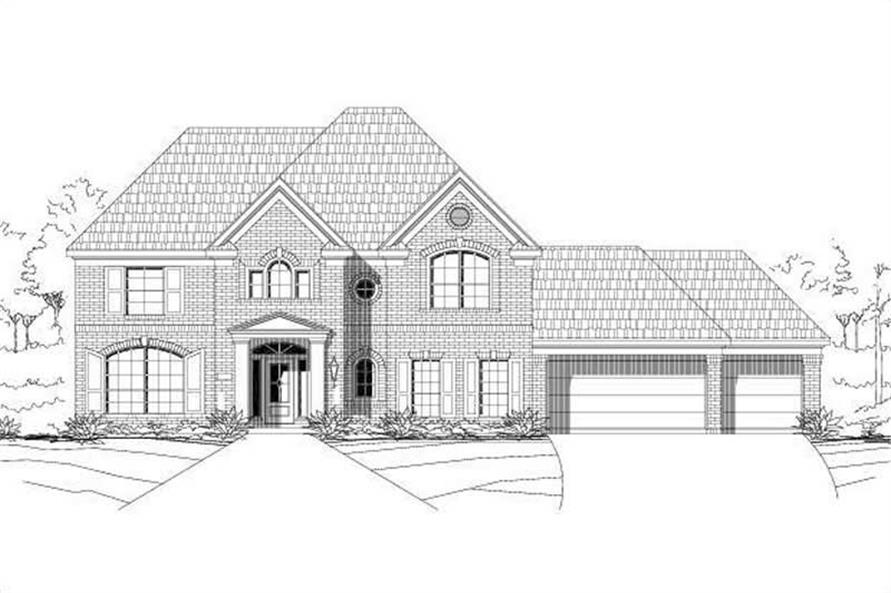 Main image for house plan # 16554
