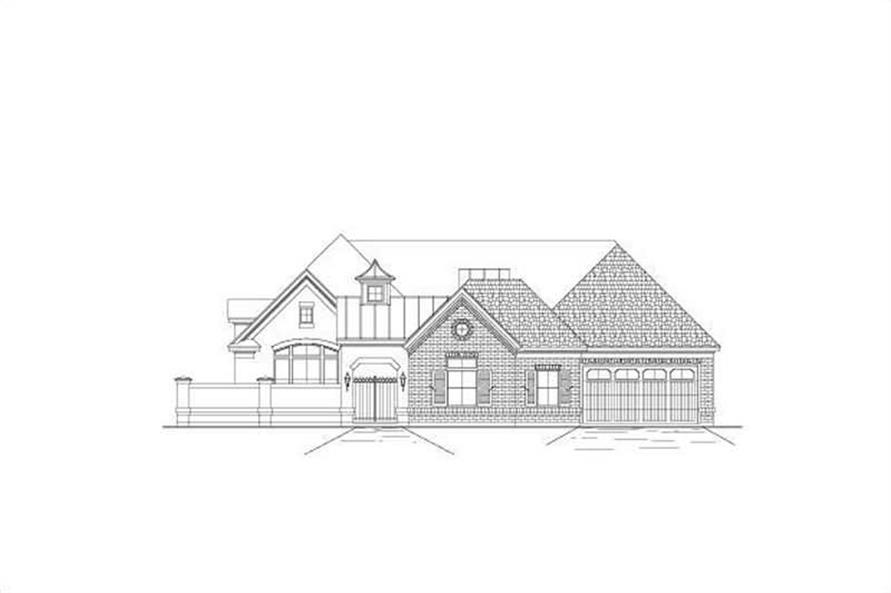 Main image for house plan # 16388