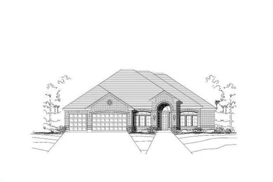 Main image for house plan # 16420