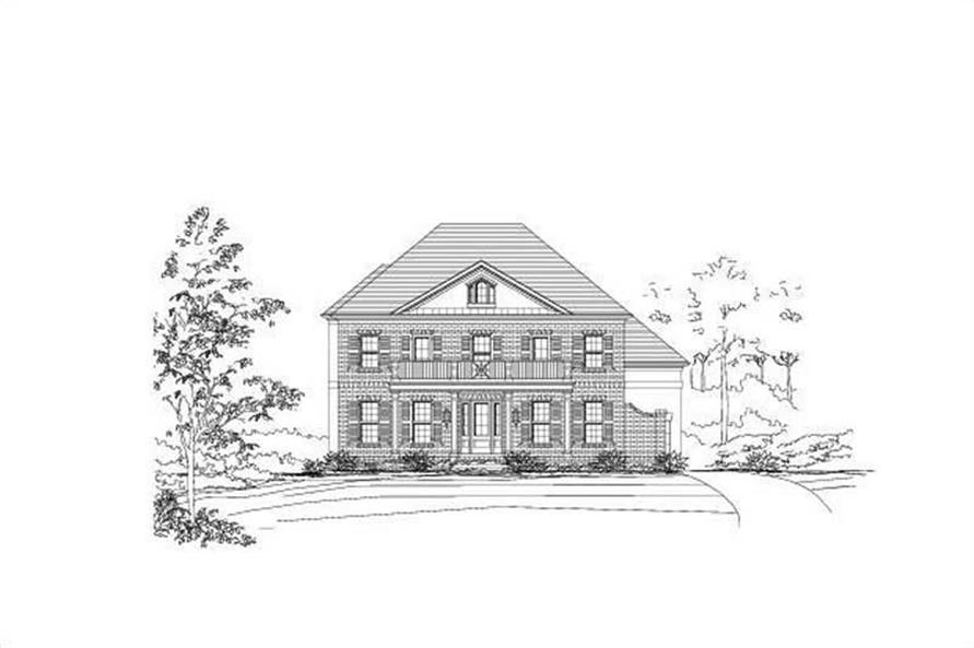 Main image for house plan # 16430