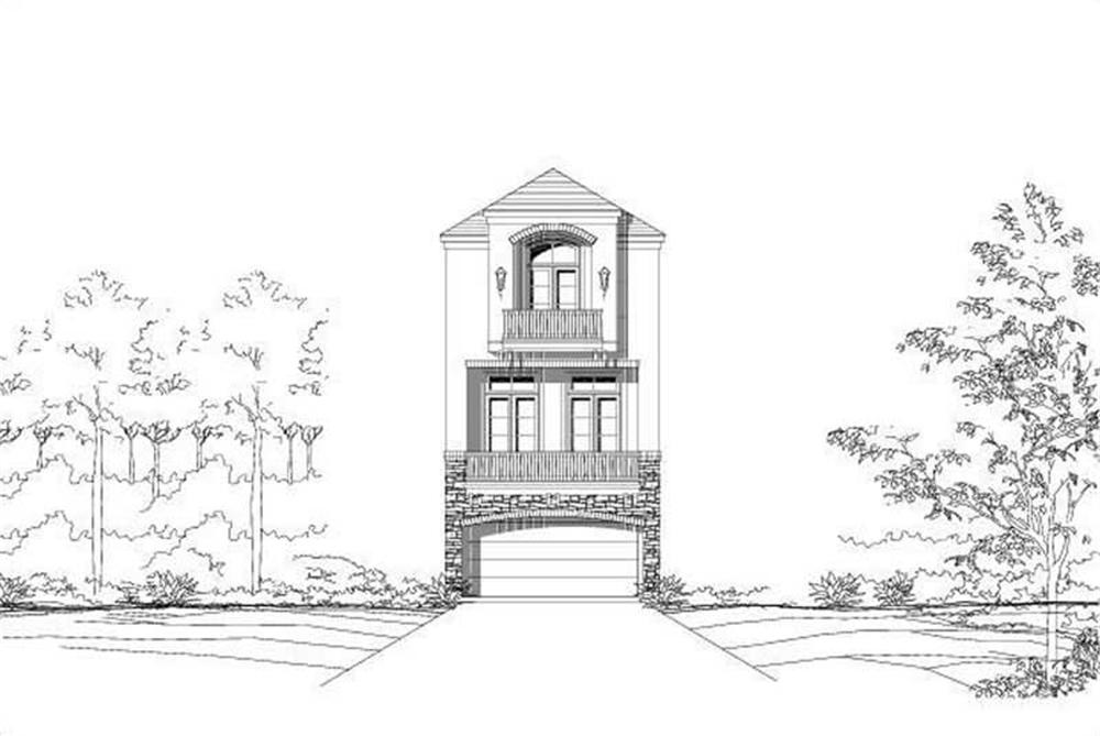 Main image for house plan # 16427