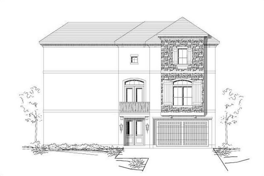 Main image for house plan # 16448