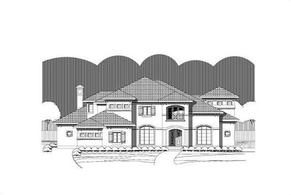 Main image for luxury house plan # 16451