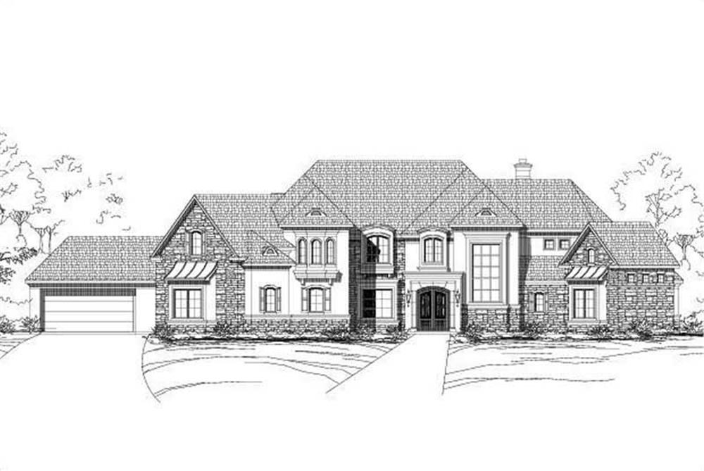 Main image for country houseplans # 16404