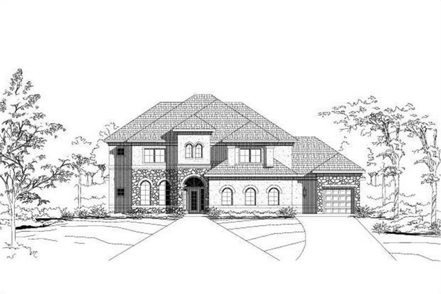 Main image for house plan # 16422