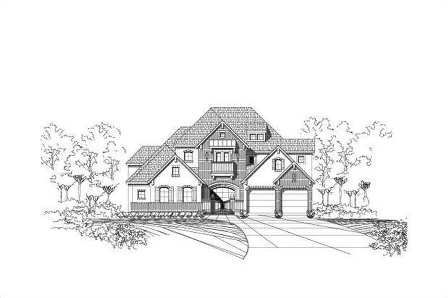 Main image for house plan # 16342