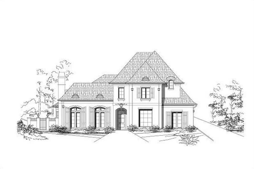 Main image for house plan # 16333