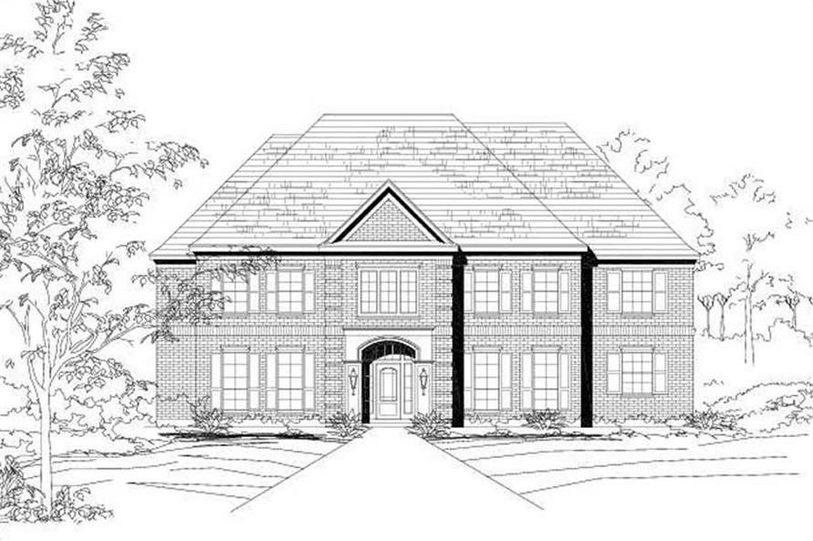 Main image for house plan # 16168