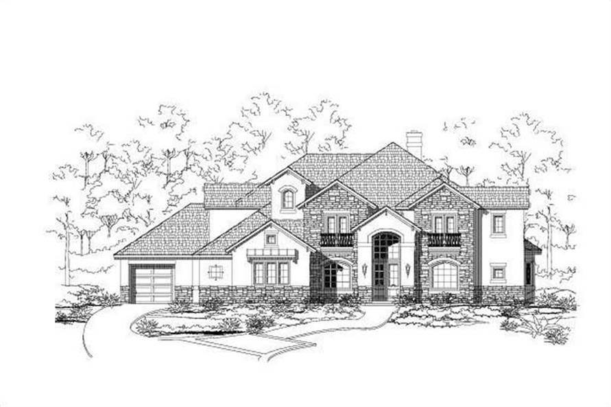 Main image for house plan # 16147