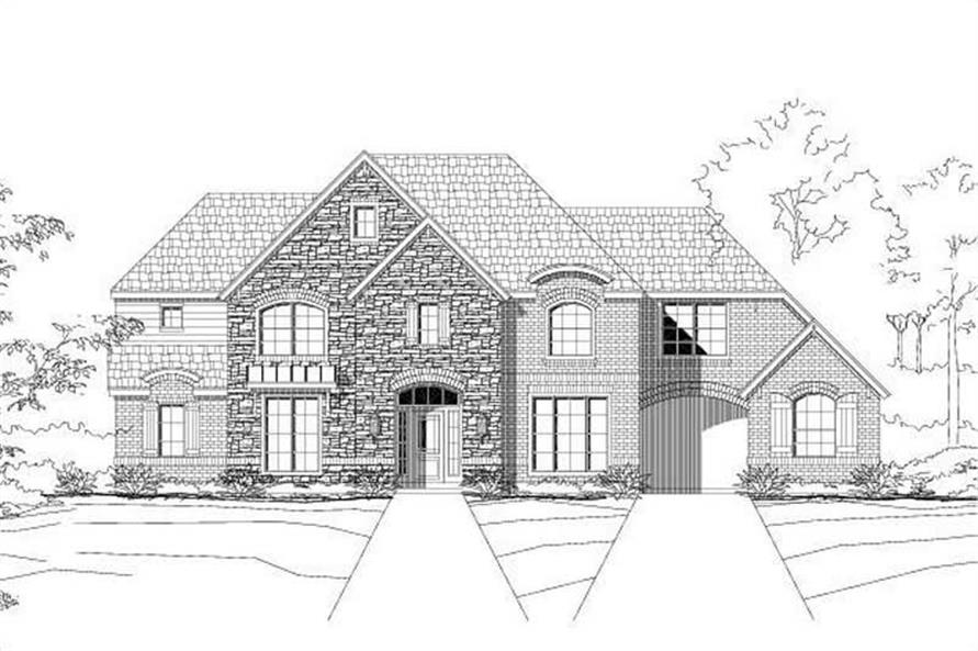 Main image for house plan # 16306