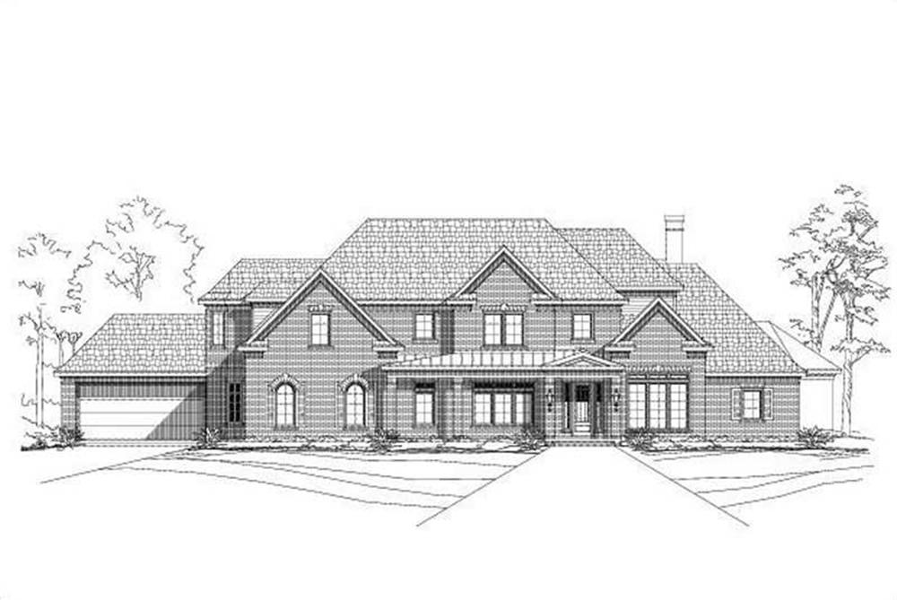 Main image for house plan # 16315