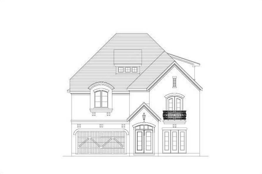 3-Bedroom, 4354 Sq Ft Luxury Home Plan - 156-1365 - Main Exterior