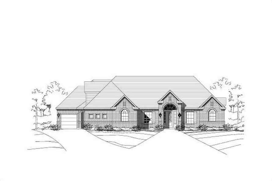 Main image for house plan # 16238