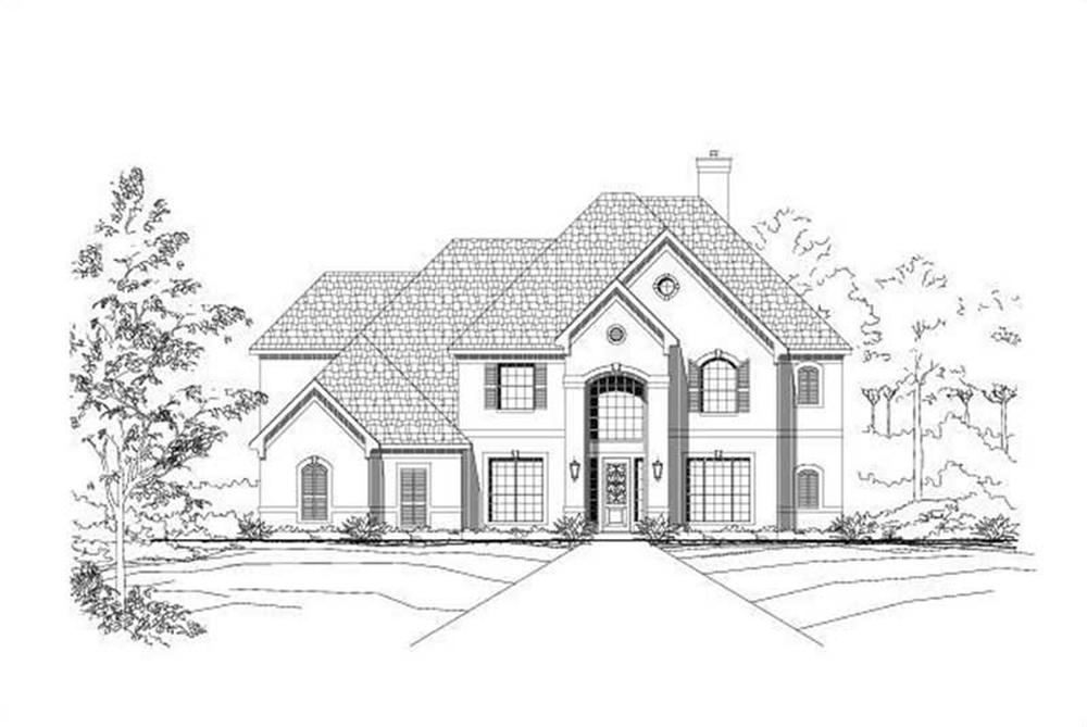 Main image for house plan # 16206