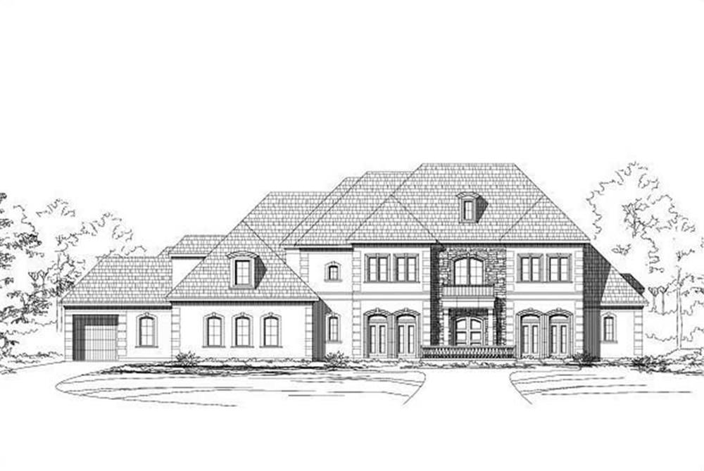 Main image for house plan # 16098
