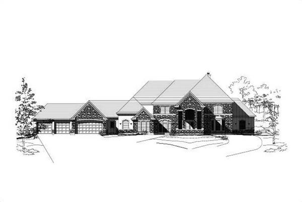 Main image for house plan # 16241