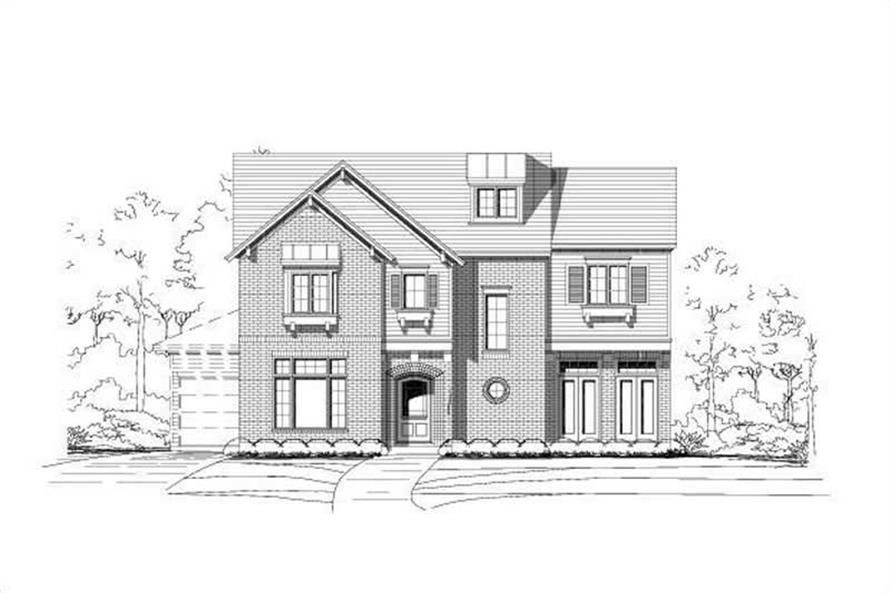 Main image for house plan # 16260