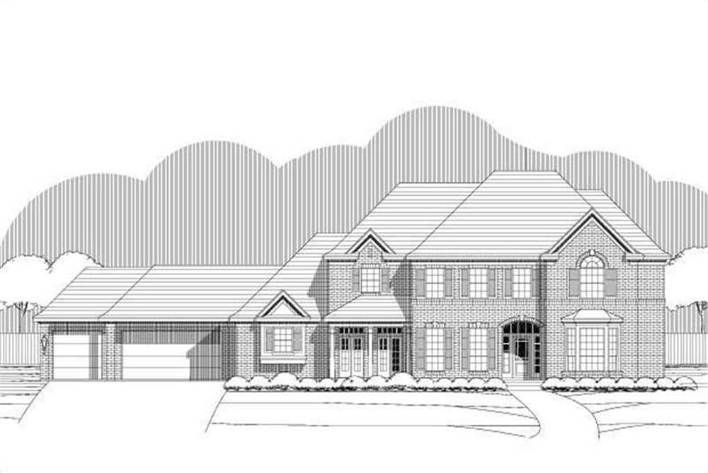 Main image for house plan # 16302