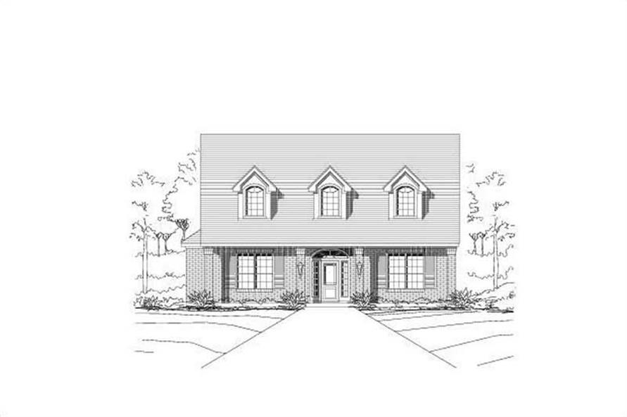 Main image for house plan # 16417