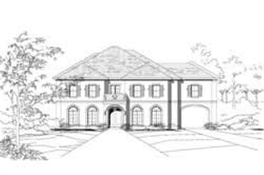 Main image for house plan # 16268