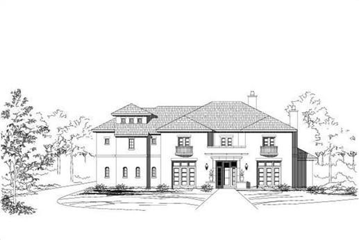 Main image for house plan # 16327