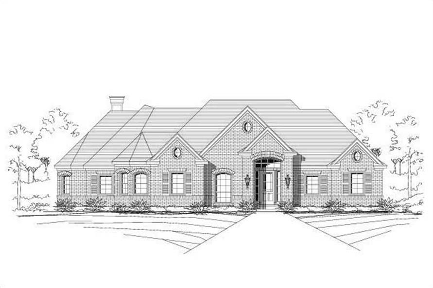 Main image for house plan # 16425