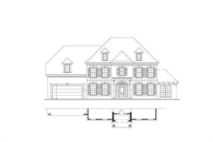 Main image for house plan # 16401