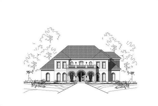 Main image for house plan # 16399