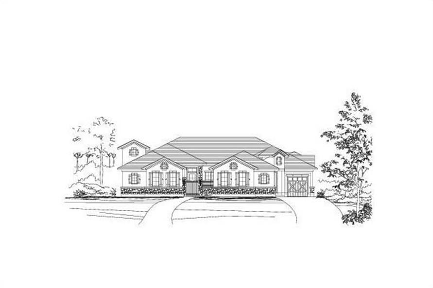 Main image for house plan # 16396