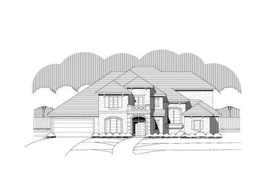 Main image for house plan # 16345