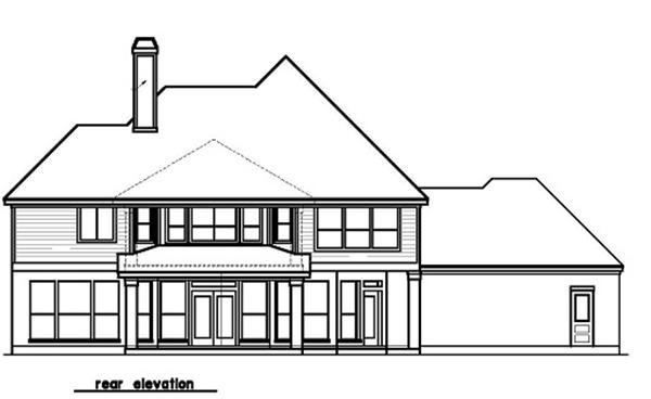156-1467 rear elevation