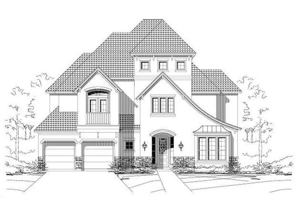 Main image for house plan # 16230