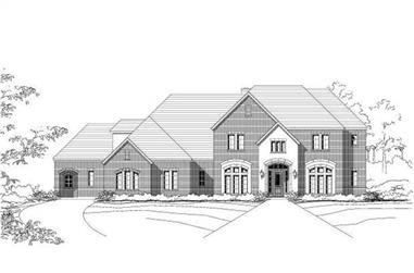 Main image for house plan # 16364