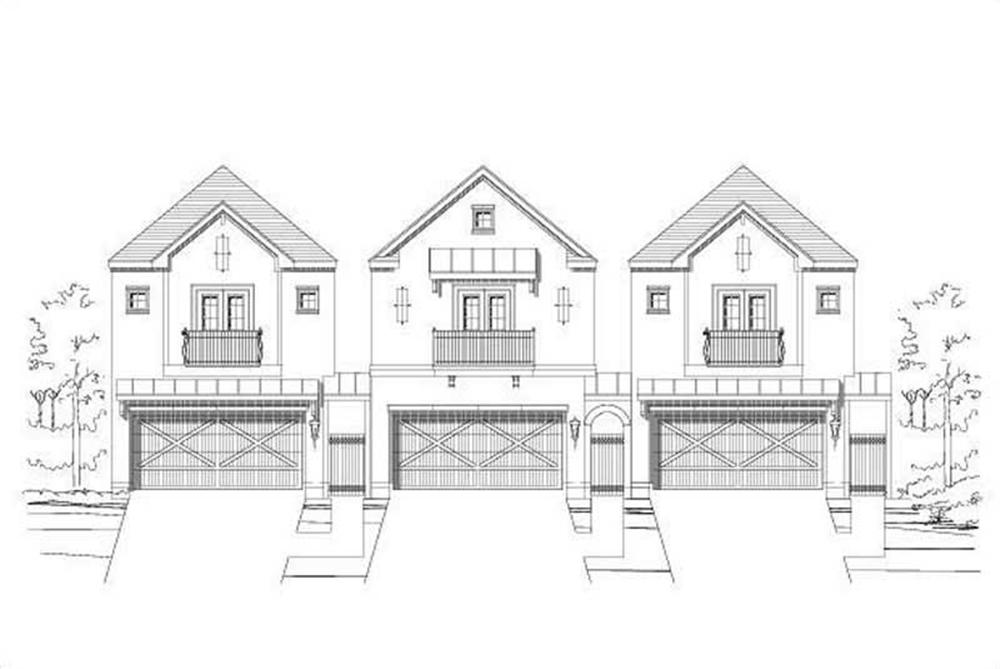 Main image for house plan # 16434