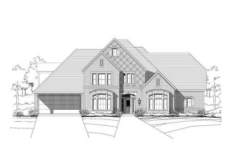 Main image for house plan # 16162