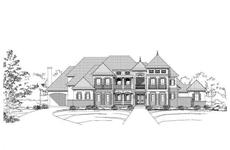 Main image for luxury house plan # 19083