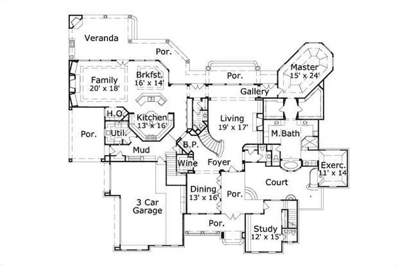 HOME PLAN OHP 020302