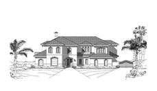 Main image for luxury house plan # 19214