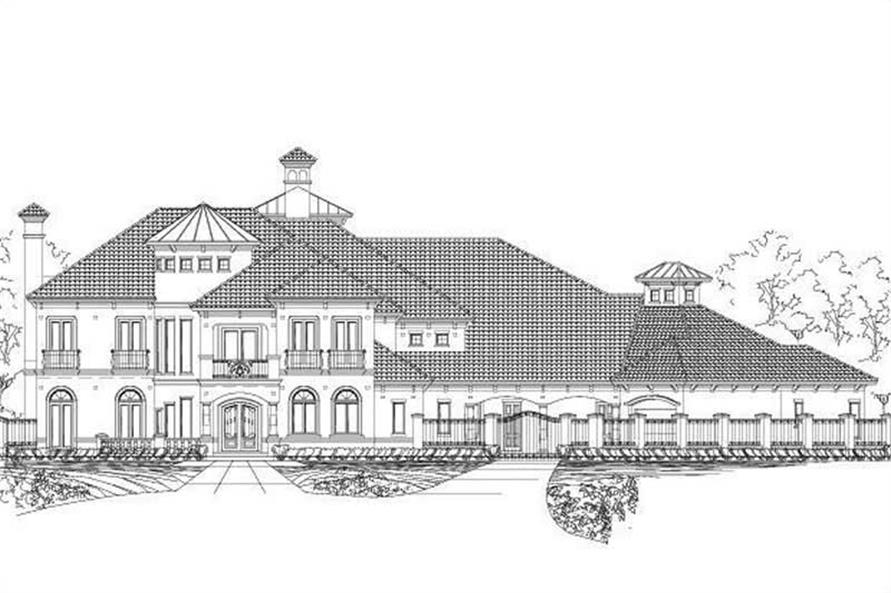 Main image for luxury house plan # 19216